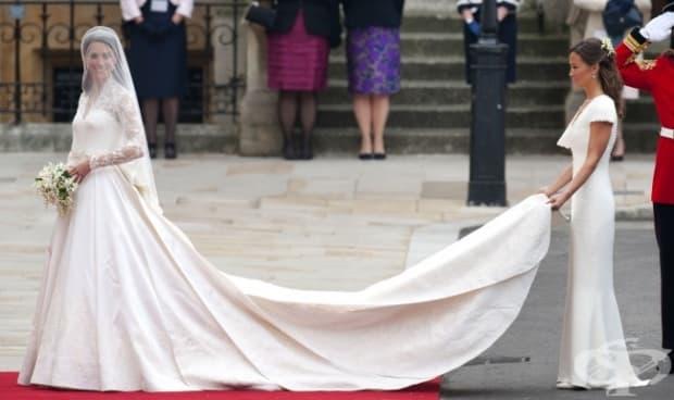 Сватбената рокля на Кейт Мидълтън