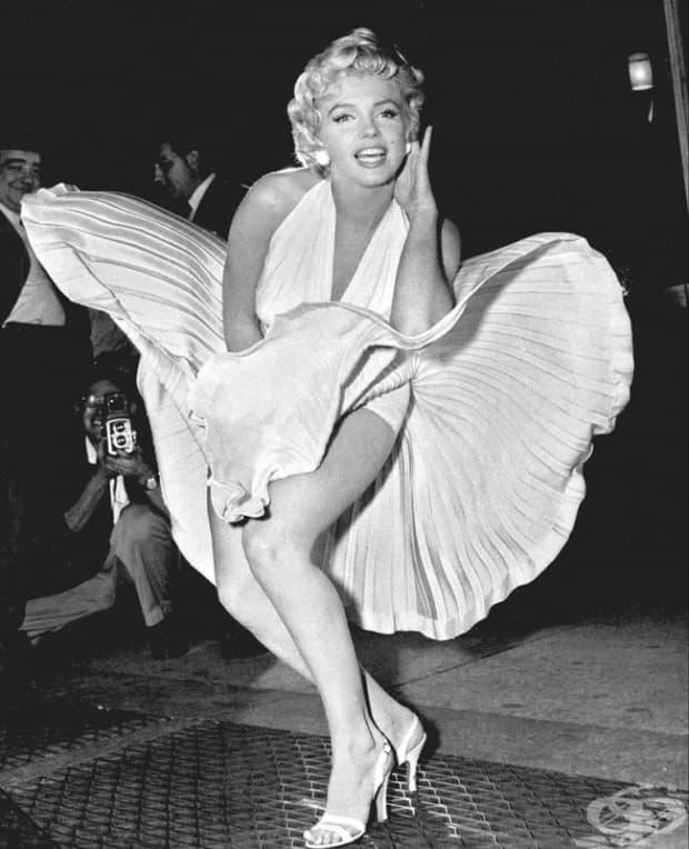 Мерилин Монро, Проклетите 7 години, 1955 г.
