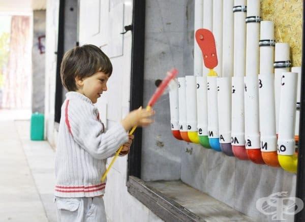 Музикалният инструмент оргафон, Музикален подлез