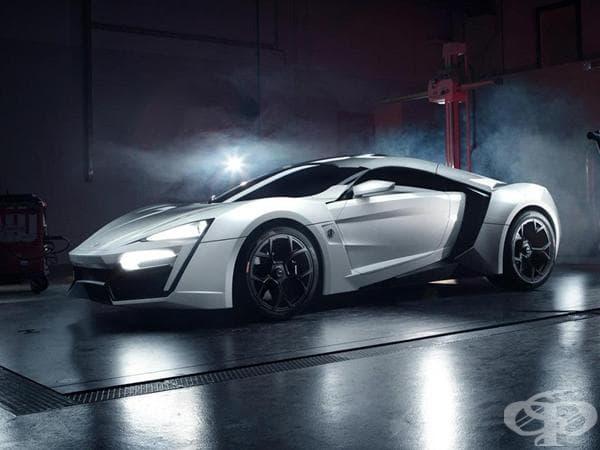 W Motors Lykan Hypersport - 3.4 милиона долара