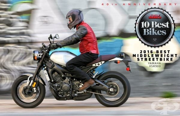 Най-добър средно тежък градски мотор: Yamaha XSR900 /$9,490 начална цена/