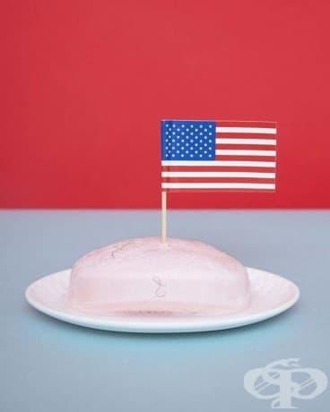 Няма значение колко патриотични сте вие или вашия сапун - напълно против закона е да забивате американското знаме в него.
