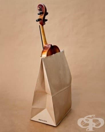 Носенето на цигулка в хартиена торбичка по улицата е забранено в Юта.