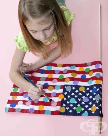 Нямате право да рисувате точки по Американския флаг във Вашингтон.