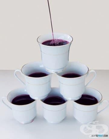 Не може да сервира вино в чаени чаши в Канзас.
