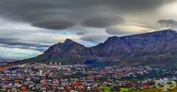 НЛО над Кейптаун.