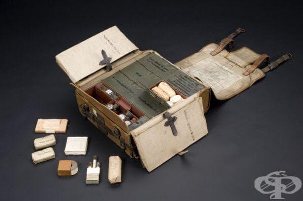Немски военно-полеви медицински комплекти, ползвани до 1918 година