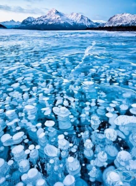 Езерото Ейбрахам, Албърта, Канада