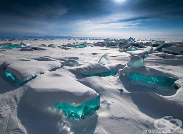 Езерото Байкал, Сибир, Русия
