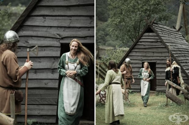 Викингска сватбена церемония за една влюбена двойка - Густаво и Фани