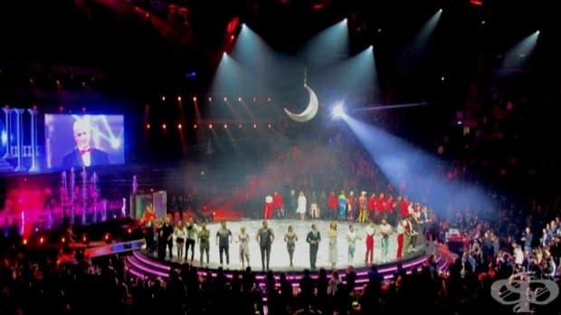 """Нощ на звездите 2019 - съзвездие от звезди на сцената на """"Арена Армеец""""."""