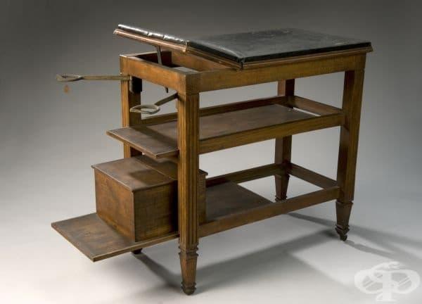 Операционна маса от 1881 година