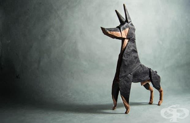 Невероятни оригами на животни от испанския художник Гонсало Калво