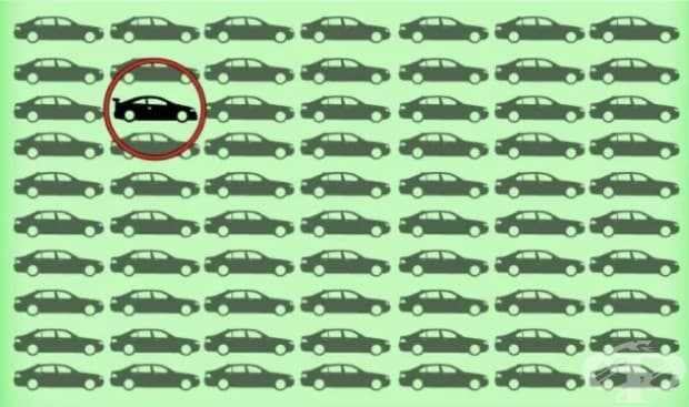 Колко бързо можете да намерите разликата в тези 10 картинки