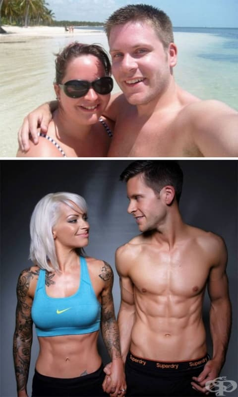 Тези щастливци отказали да тръгнат към олтара преди да влязат във форма. Оженили се след 5 години.