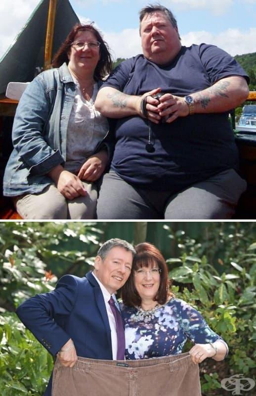 Тези двамата свалили 139 кг