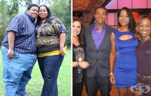 Тази двойка свалила 227 кг за 2 години