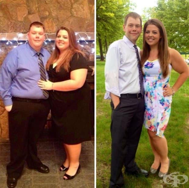 А тази двойка – 137 кг!