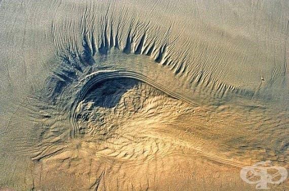 Пустинята в Иран.