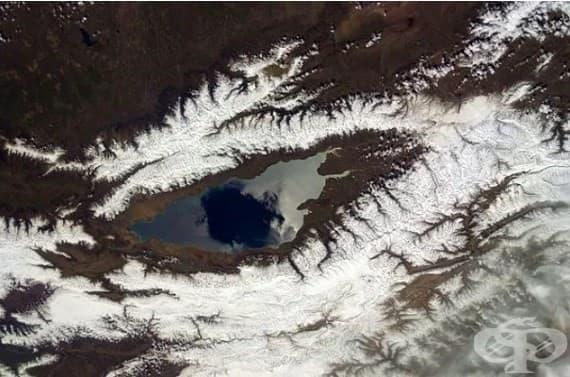 Езерото Исък Кул, Киргизстан.