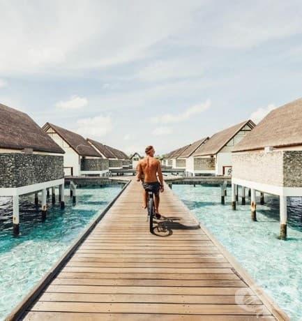 Приказните фотографии на двойката, която печели по $ 9000 на снимка от пътуване