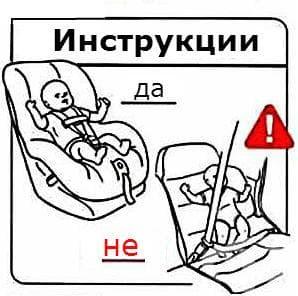 Обезопасяване на бебето при пътуване с автомобил
