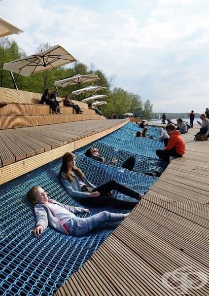 Езерото Папрокани, Полша