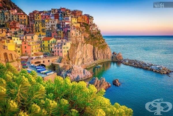 Чинке Тере, Италия