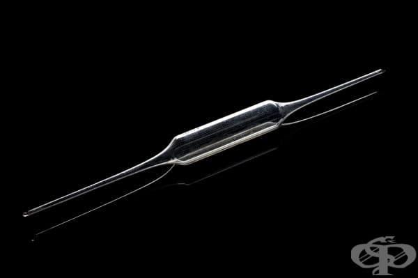 Стъклена пипета на Луи Пастьор, ползвана при разработването на ваксината срещу бяс