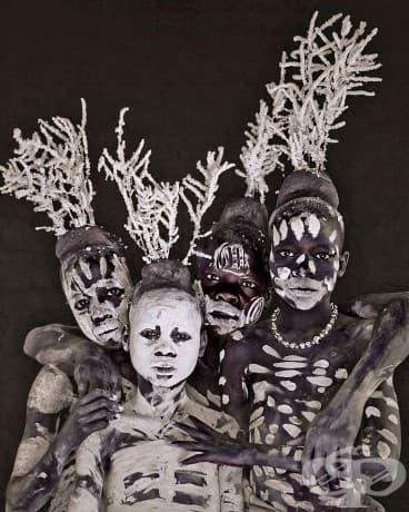 Племето Каро; Местоположение: Етиопия