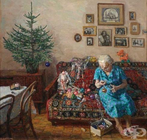 """Егор Зайцев, """"Коледна елха"""", 1996"""