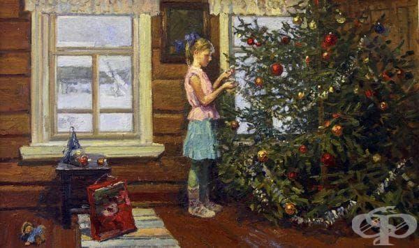 "Ирина Рибакова, ""Коледна елха"", 2012"