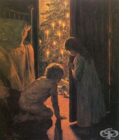 """Хенри Мослер, """"Коледно утро"""", 1916"""