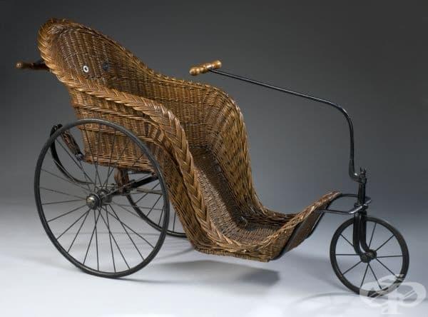 Предшественикът на инвалидната количка: столът Бат от 18-ти век