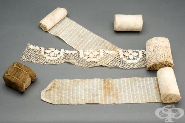 Хирургически превръзки за рани от 1914 година