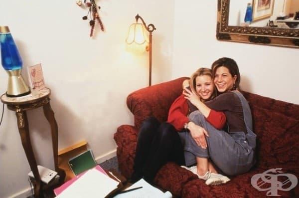 10 задкулисни снимки от сериала Приятели