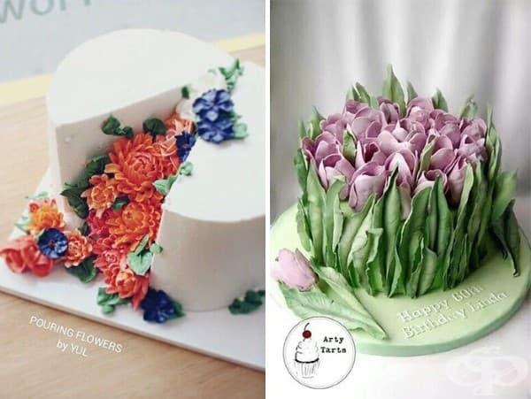 10 разцъфнали пролетни торти