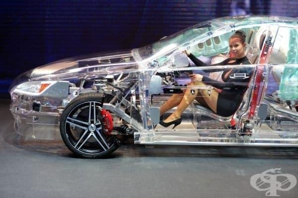 Прозрачна кола.