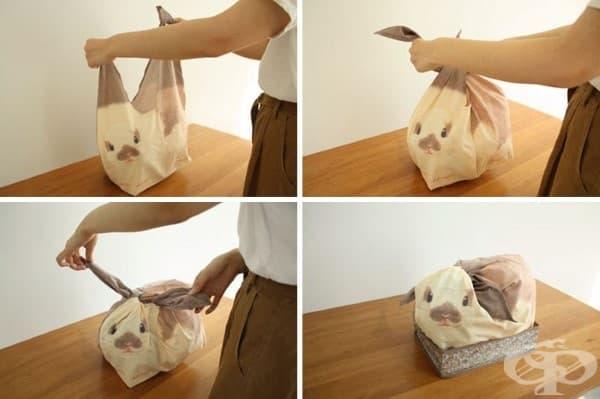 Японски чанти-зайчета, които ще освежат и подредят дома ви