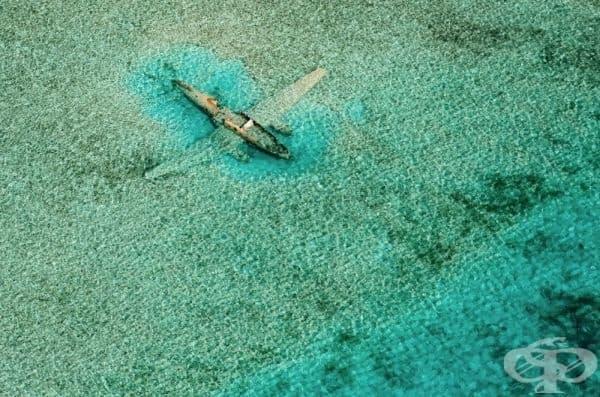 Разбит самолет в близост до остров Езкума.