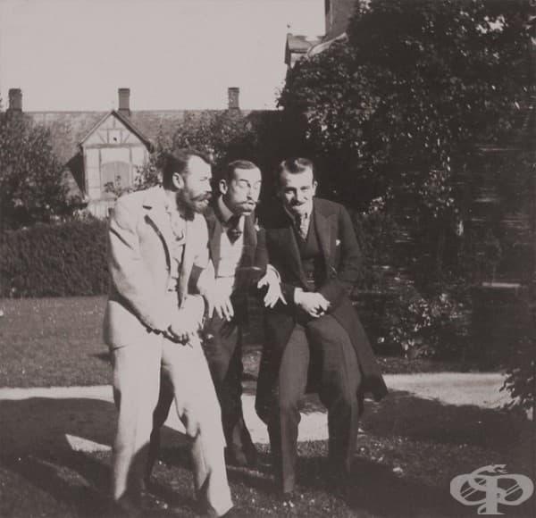 И царете са хора. Николай II с европейски монарси, 1899 г.