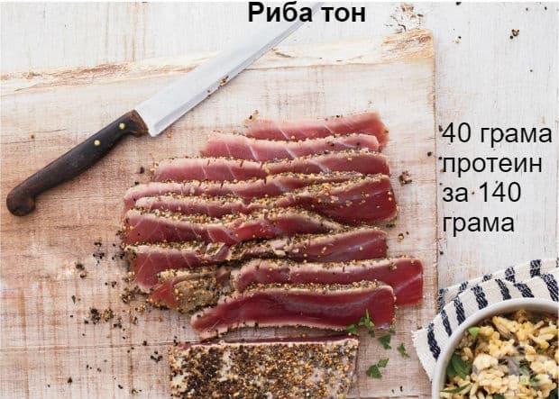 Прясната риба тон е богата на калий, магнезий, фосфор, витамин В6 и тиамин и е с 30% по-богат източник на протеини от консервирания вариант.