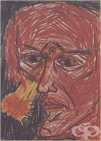 Рисунка на халюцинации на пациент с шизофрения.