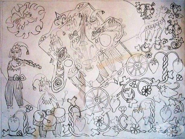 """Карен Мей Сьоренсен рисува това, в период, в който """"разширява границите на лудостта."""""""