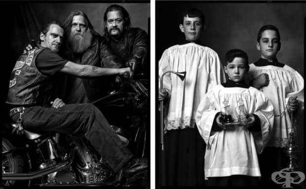 Рокери/Деца от църковния хор