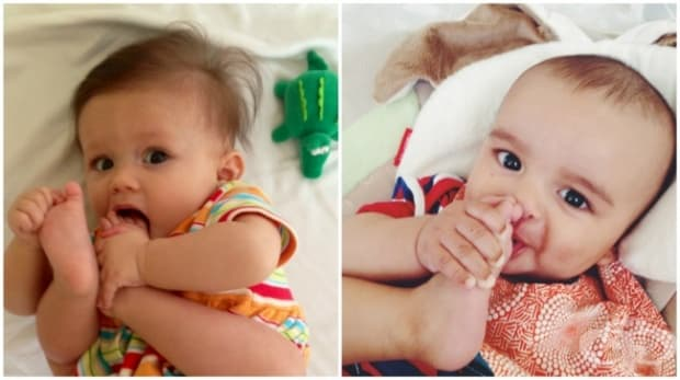 Вашето бебе ще поставя в устата си всичко, до което се докопа… включително части от тялото си.