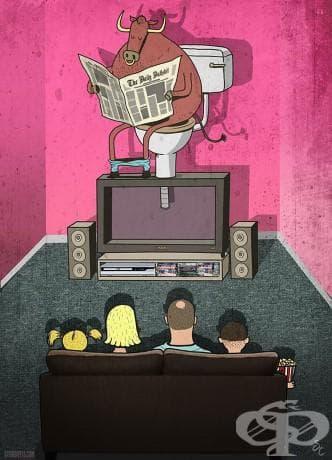 Чудите се какво ли има по телевизията тази вечер?