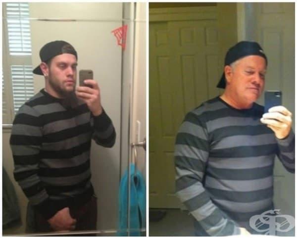Родители пародират селфитата на децата си