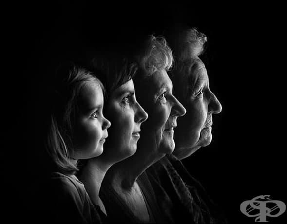 Жена с майка си, баба си и дъщеря си.