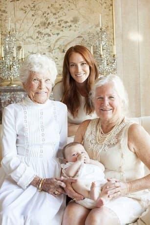 Четири поколения.